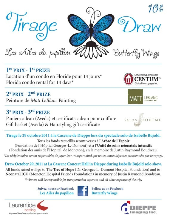 Fundraising campaign Les Ailes du papillon