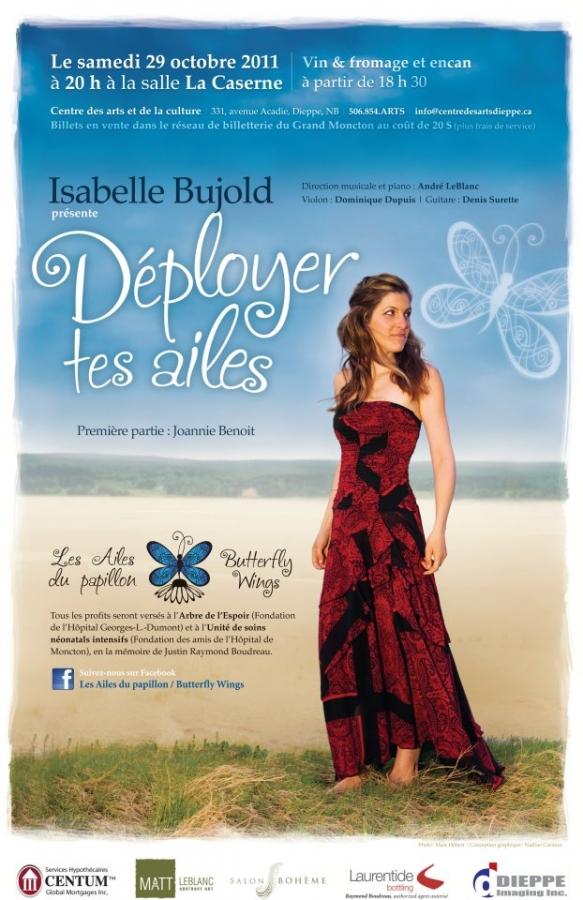 Spectacle Déployer tes ailes de Isabelle Bujold