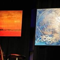 Merci à Matt LeBlanc d'avoir fait le don de superbes peintures