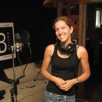 Isabelle Bujold après sa session d'enregistrement
