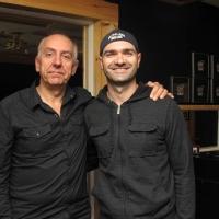 Ronald Bourgeois et George Belliveau, le réalisateur de l'album